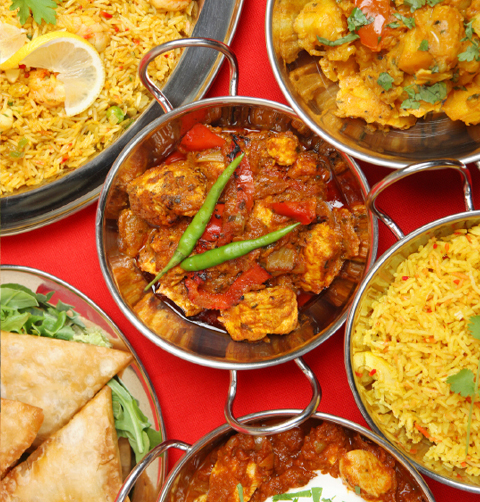 Meat thali Restaurant and Takeaway Indian Diner SW1P