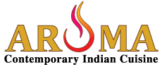 Aroma Contemporary Indian cuisine Logo