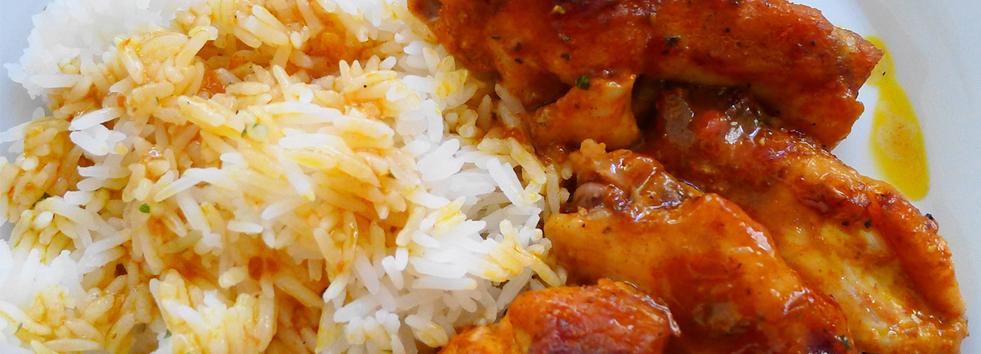 Takeaway Garlic Pilau Rice Myas Spicery NE61