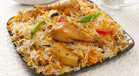 Takeaway Chicken Biryani Indian Ocean ME15