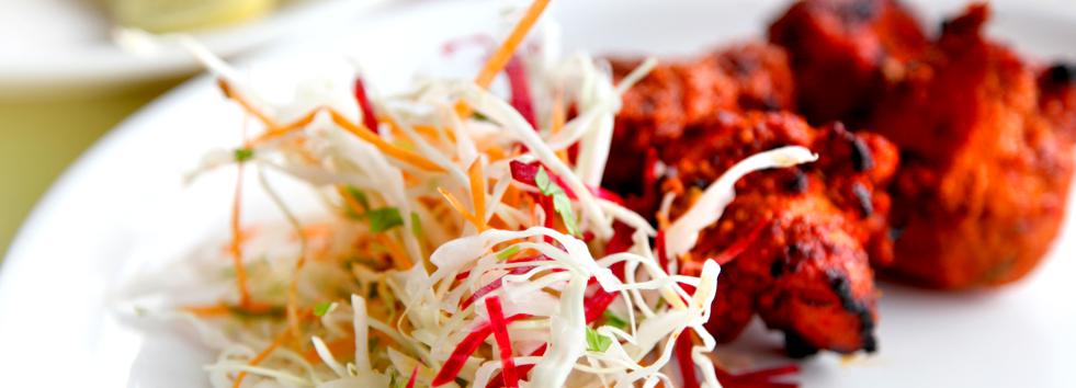 Takeaway indian food balti hut ne12