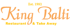 King Balti Restaurant Logo WS1 2EU
