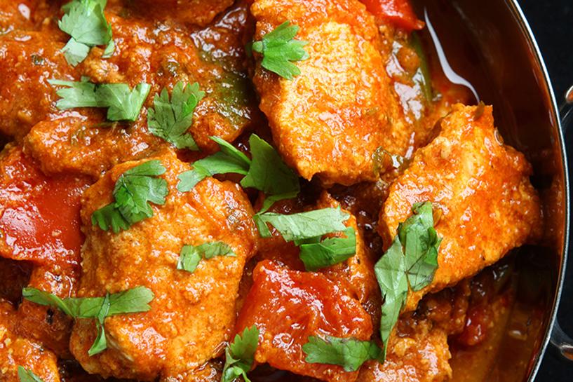 Takeaway Chicken Pathia Village Curry RG41