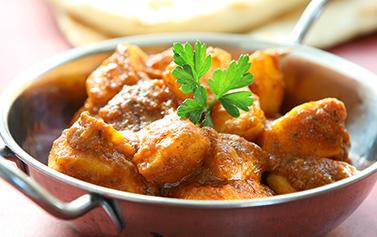 Free Bombay Aloo Takeaway Rice & Spice KT19