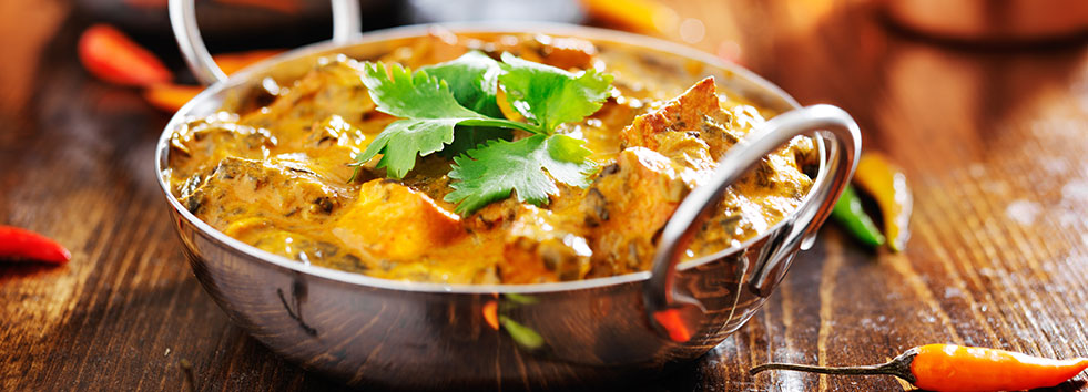 Takeaway curry dish little india cm8