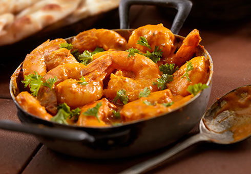 Takeaway Prawn  Zeera Indian Takeaway UB10