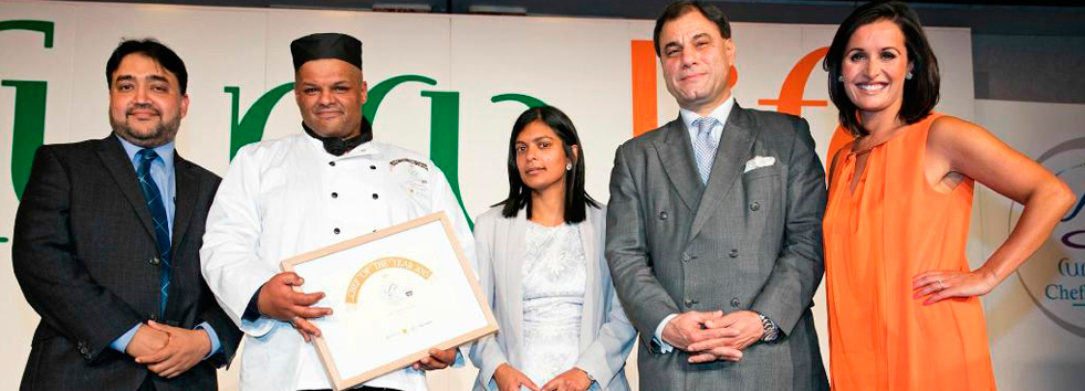 Chef of the year Amid Palace Indian Restaurant CV10