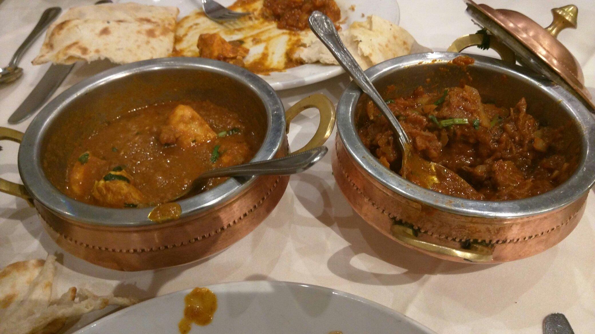 Takeaway Balti Dishes Dilruba Indian Restaurant Rugby CV21