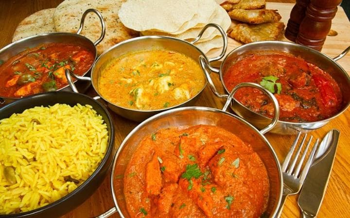 Takeaway Curry Dilruba Indian Restaurant Rugby CV21