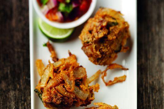 Takeaway Onion Bhaji New Rose Tandoori NW5