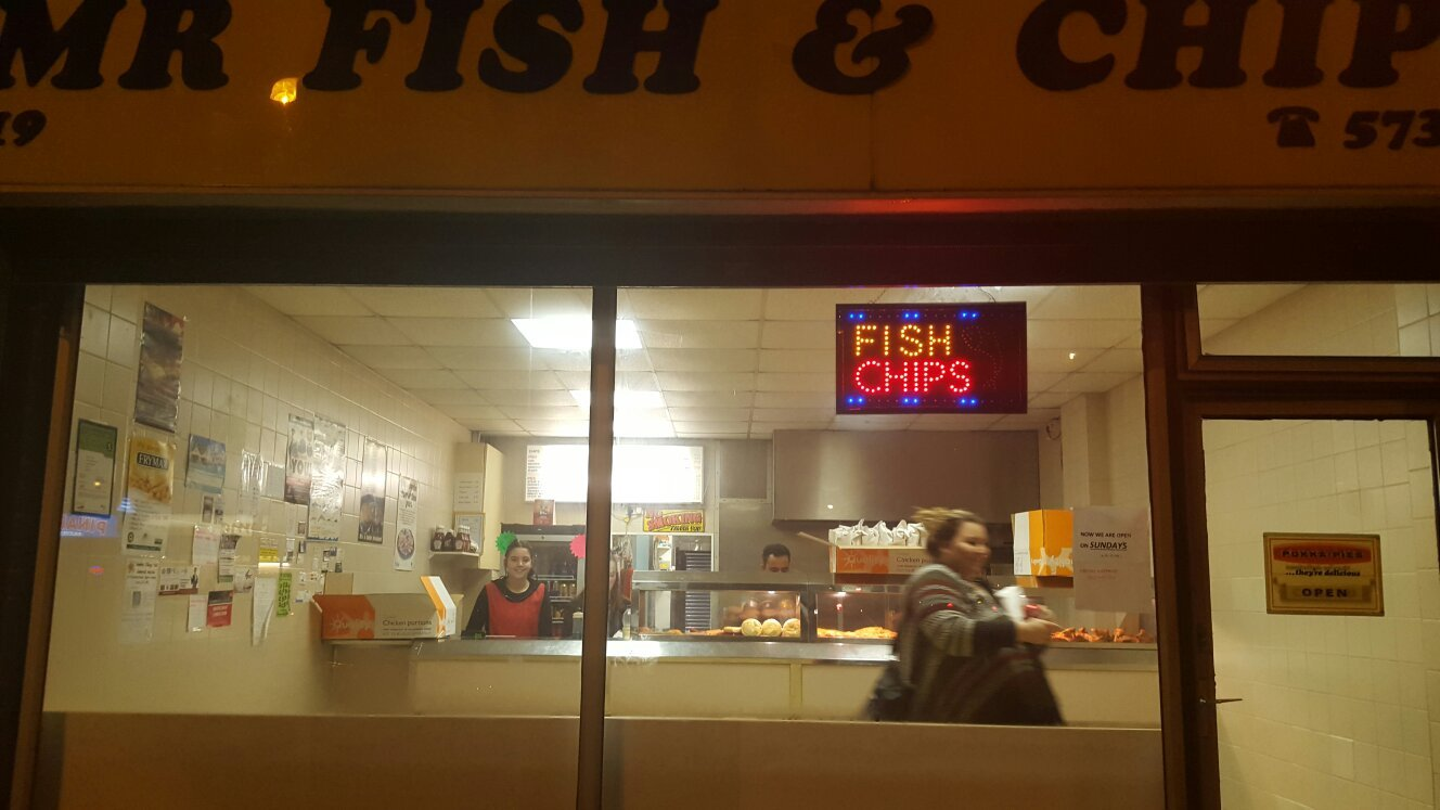 Reservation Mr Fish And Chips LU3