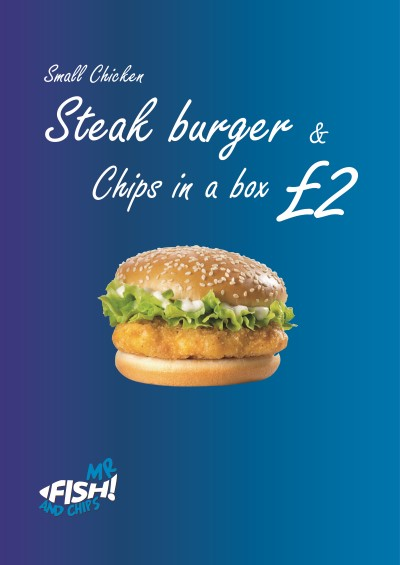 Offer Mr Fish And Chips LU3