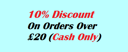 Discount for Cash Order