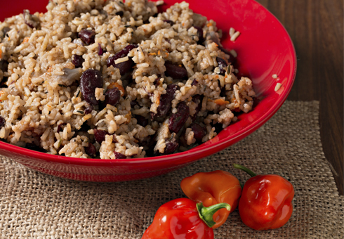 Takeaway Rice and Peas Patwarls Caribbean Restaurant WD18