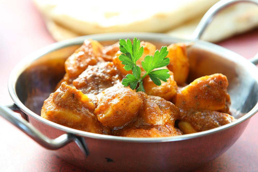 Takeaway Bombay Potato Raaz Tandoori NE29