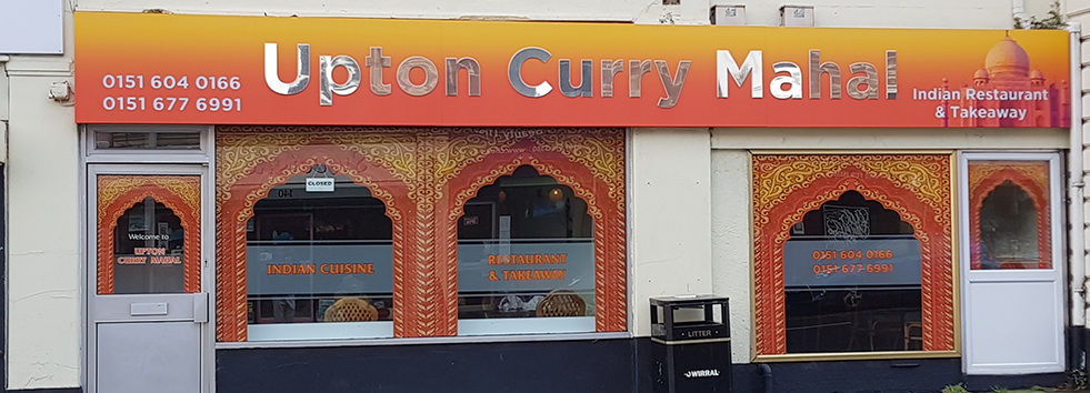 Takeaway Upton Curry Mahal CH49