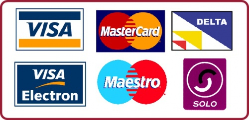 We accept all major credit/debit cards and PayPal Surma Takeaway SG1