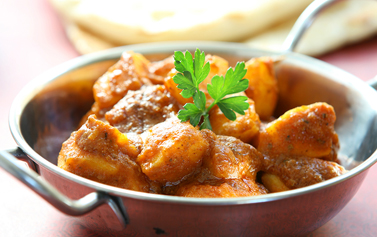 Takeaway Free Bombay Potatoes Curry Cottage CM0