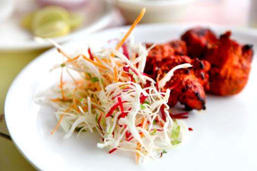 Takeaway chicken asha indian restaurant bl8