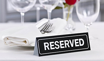 Reservation at The Raj Mahal Restaurant & Takeaway CB9