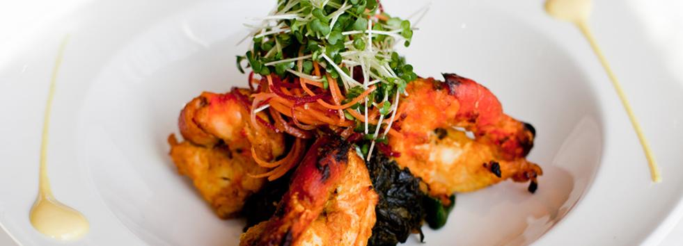 Takeaway prawn surma indian restaurant SA1