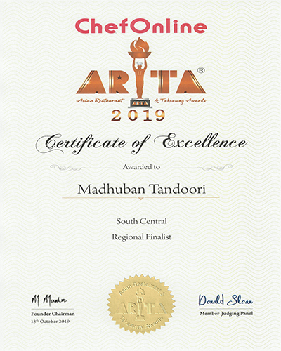 ARTA Finalists Madhuban