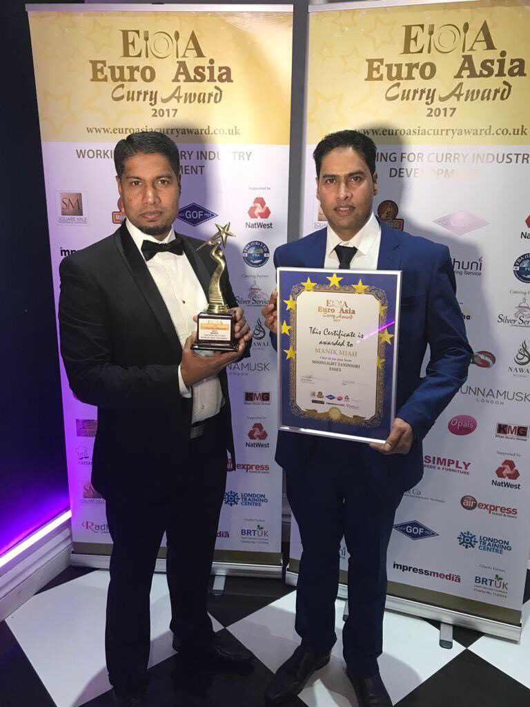 Takeaway euro asia curry award at moonlight tandoori CM18