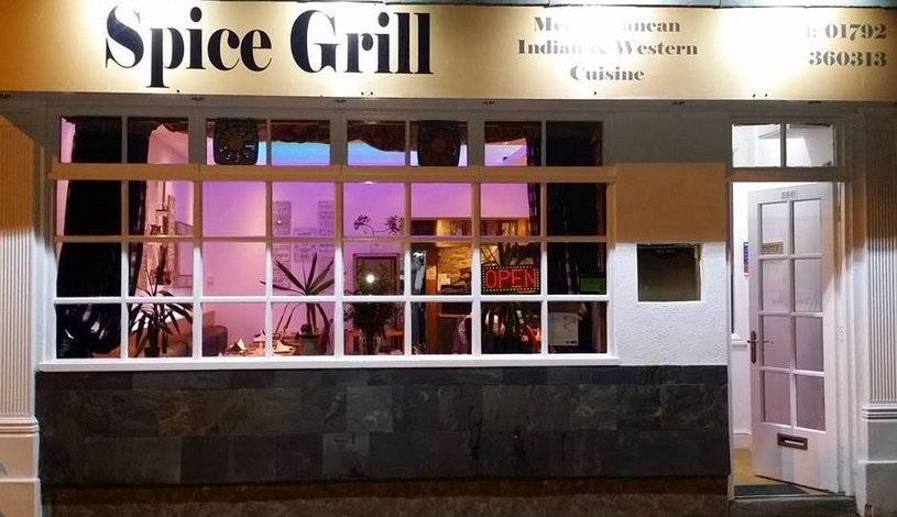 Takeaway front view spice grill SA3