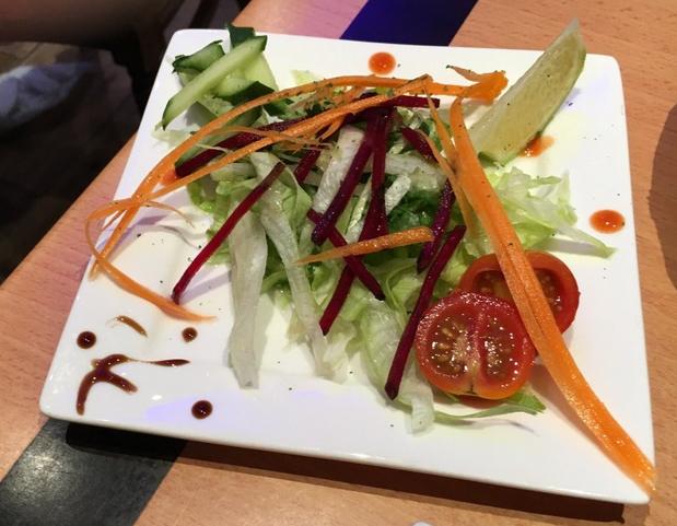 Takeaway salad spice grill SA3