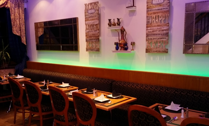 Reservation at spice grill SA3