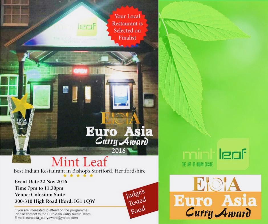 Restaurant and Takeaway Prawn Mint Leaf CM23
