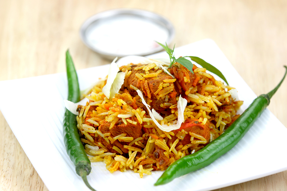 Restaurant and Takeaway Biryani Mint Leaf CM23