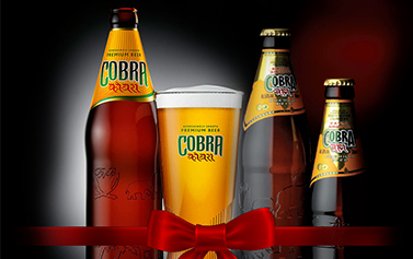 Free bottle of Cobra at Forest of India WD5