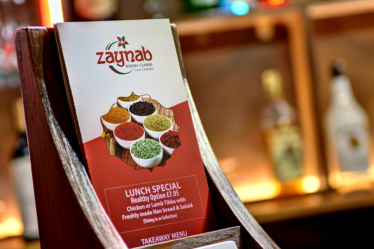 Zainab Indian Restaurant IP9