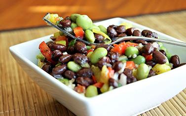 Edamame beans at Yoru Sushi E8