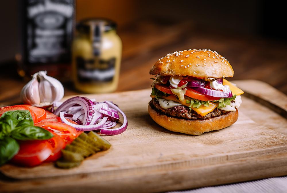 Takeaway Juicy Burger E8