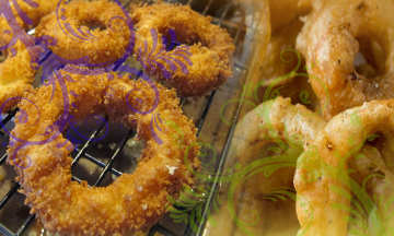 10 onion rings offer at Real Taste At IP4