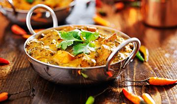 Order online at Curry Den KT8