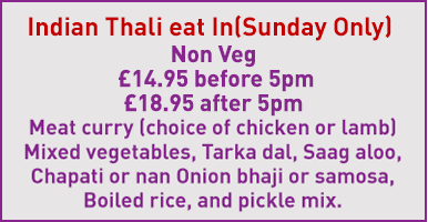 Sunday offer for non-veg