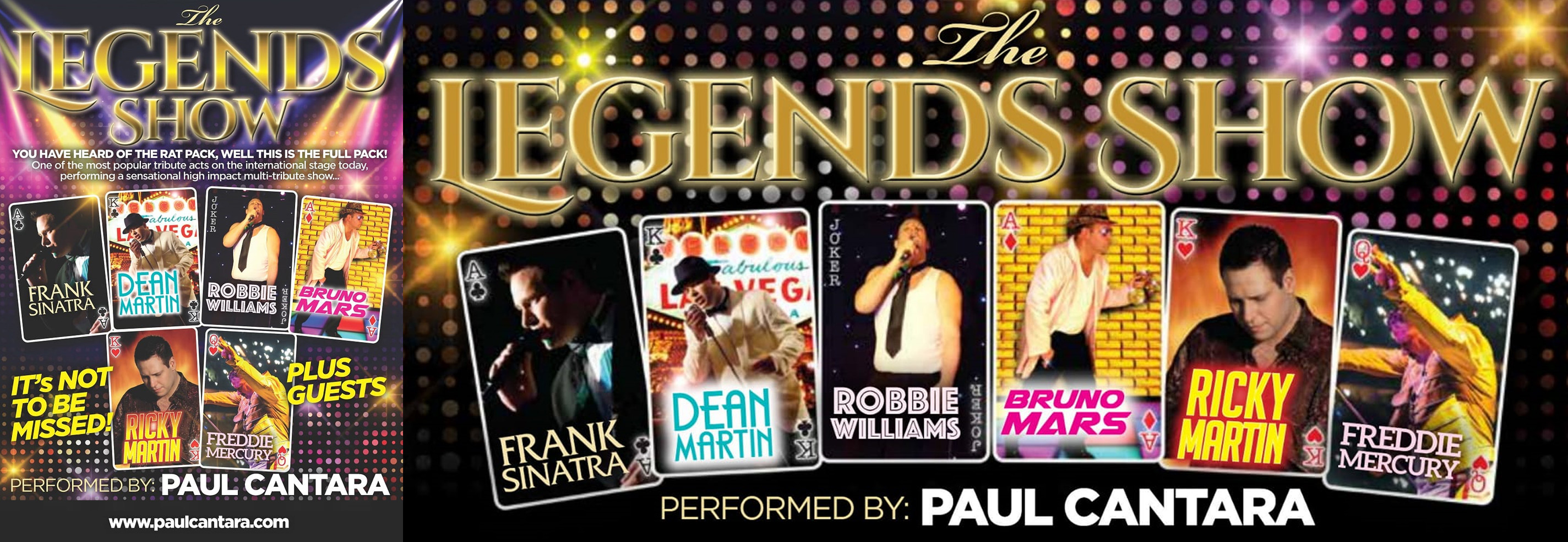 The Legends show at palace of india