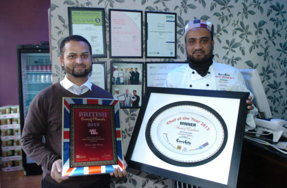 Awards tandoori nights at en11