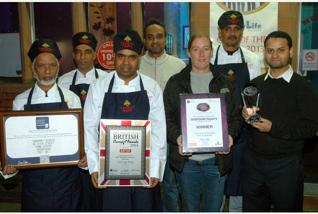 Chef Awards tandoori nights at en11