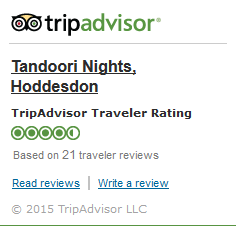 Tripadvisor Tandoori Nights Indian Takeaway Hoddesdon EN11