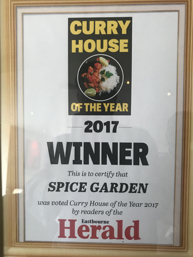 Curry house winner