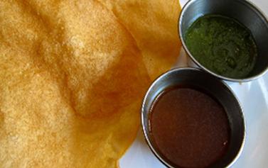 Free Papadam Bombay Potatoes and Soft Drink Bombay Dynasty NN17