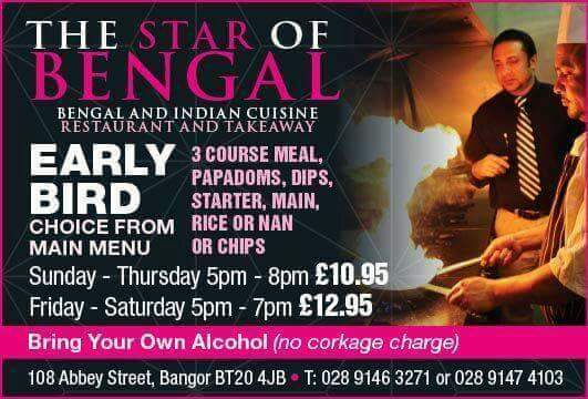 early bird offer at star of bengal BT20