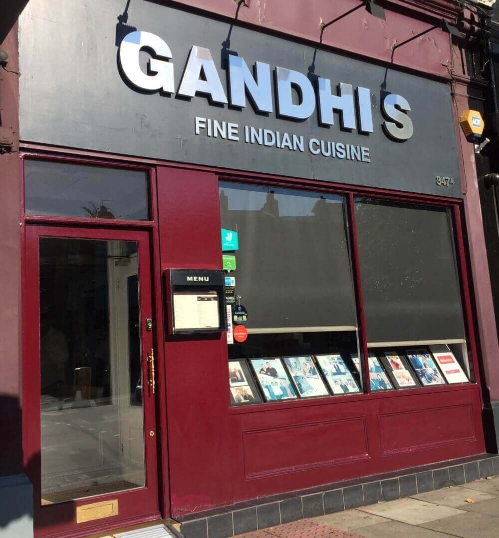 Indian Restaurant and Takeaway Gandhi