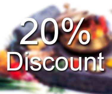 Takeaway 20% discount Madhuban2go GU30