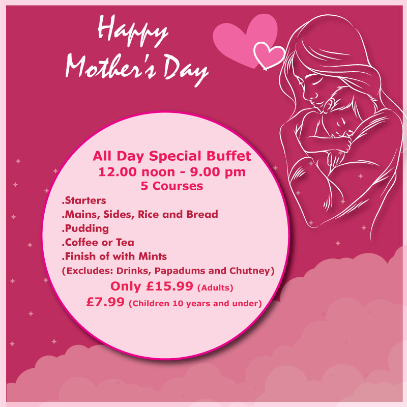 Mothers day offer at Indian Villa IP7