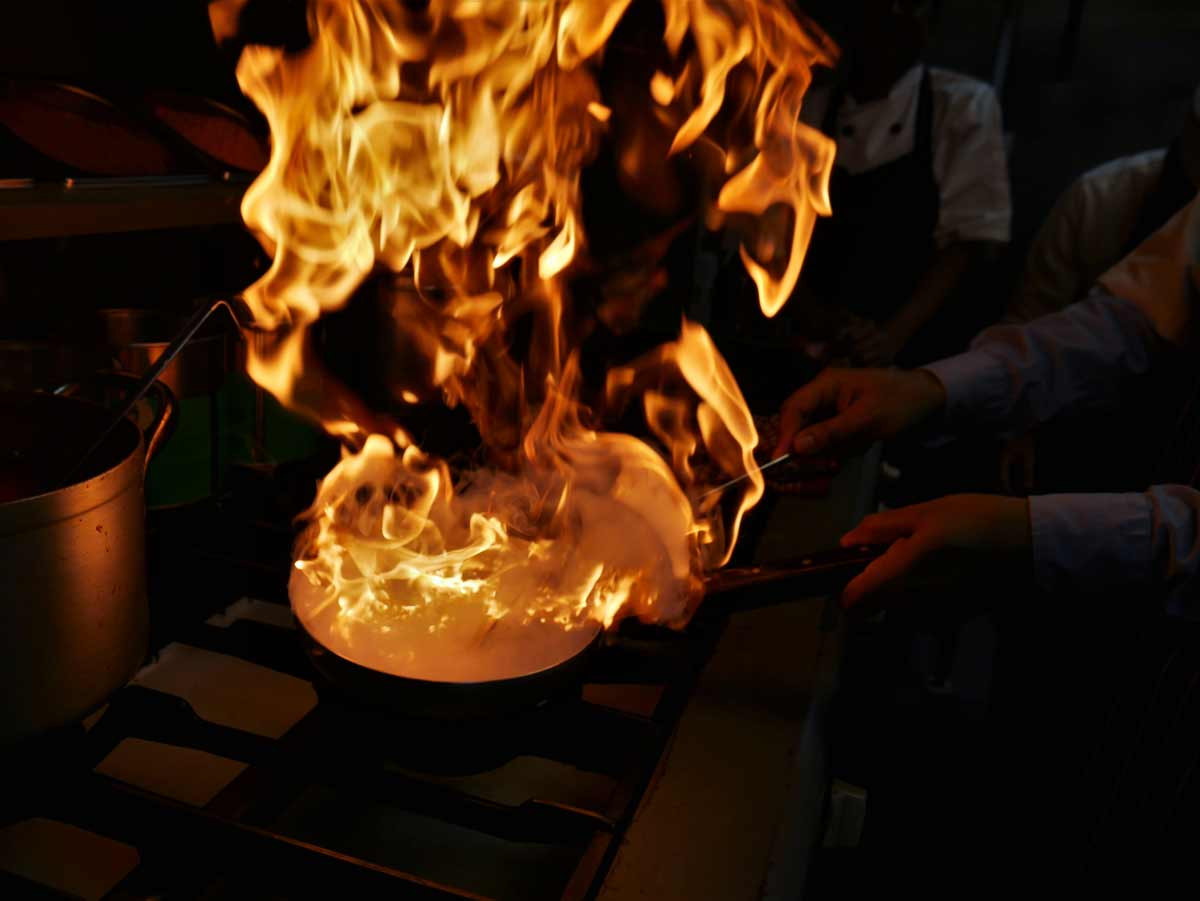cooking in rajdoot nw3